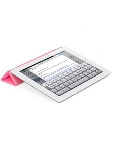 Apple чехол для iPad 3/iPad 4 Smart Cover Polyurethane розовый (MD308)