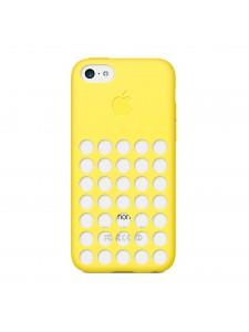 Apple чехол для iPhone 5C желтый (MF038ZM/A)