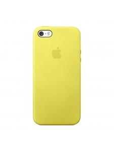 Apple чехол для iPhone 5/5S желтый (MF043)
