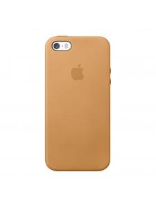 Apple чехол для iPhone 5/5S коричневый (MF041)