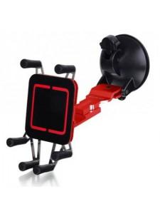Luxa 2 держатель автомобильный для iPhone5, Samsung Galaxy SIII красный ( LH0013-B)