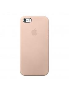 Apple чехол для iPhone 5/5S бежевый (MF042)