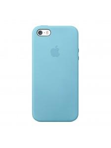 Apple чехол для iPhone 5/5S голубой (MF044)