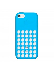 Apple чехол для iPhone 5C голубой (MF035ZM/A)